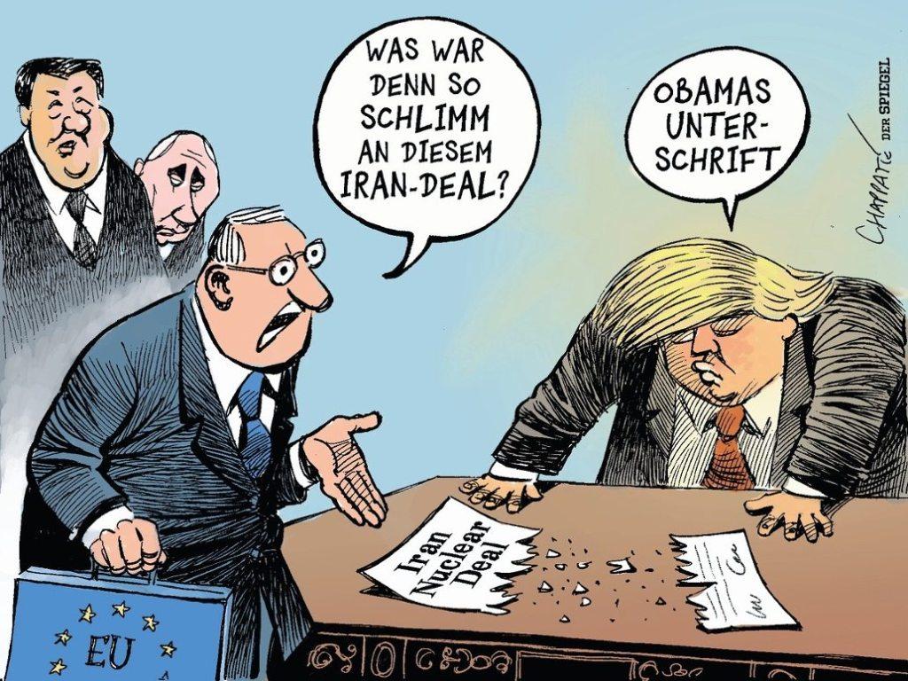 Narcisse & L'Apocalypse : Trump se retire des traités parce qu'ils ne comportent pas sa signature