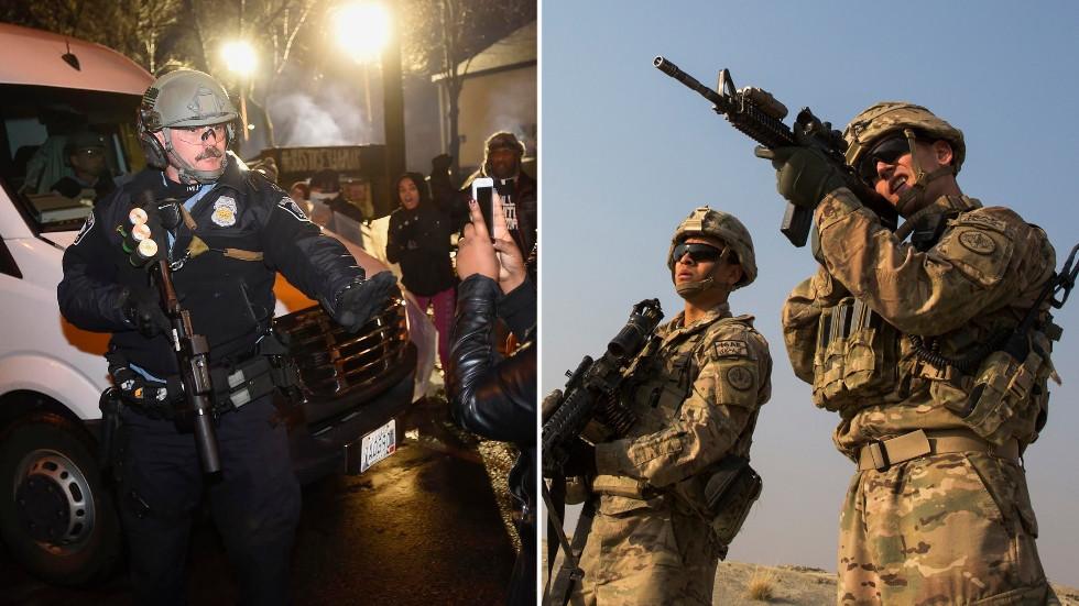 Mort de George Floyd : face au peuple, la police se comporte comme l'armée US en pays conquis