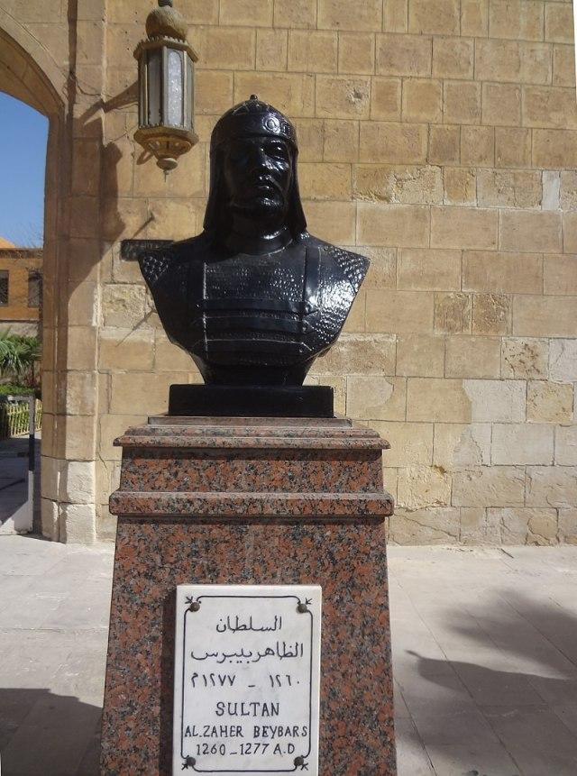 800px-تمثال_للسلطان_الظاهر_بيبرس
