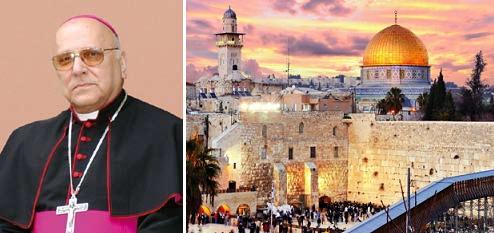 Au nom du Christ : le patriarche de Jérusalem appelle les chrétiens à embrasser la cause palestinienne