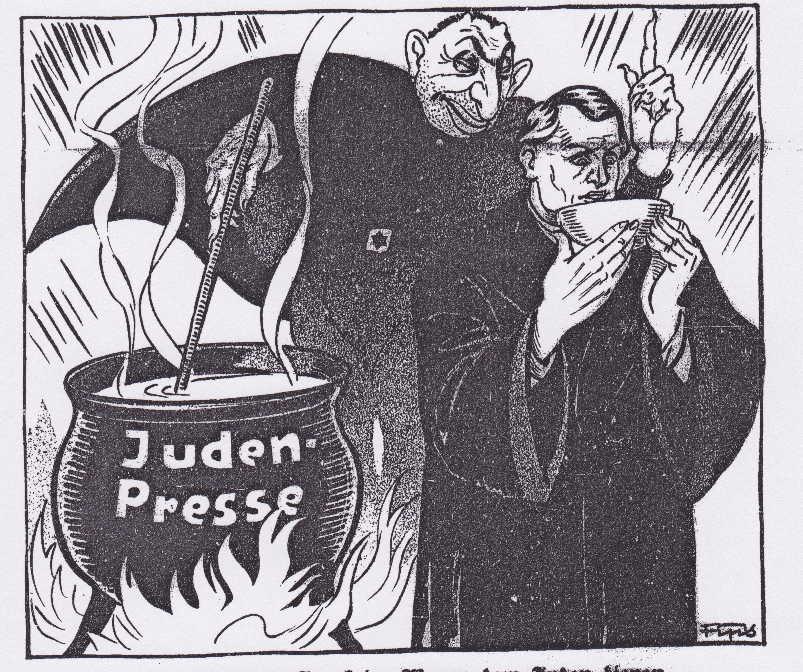 An-anti-semitic-cartoon-from-the-Weimar-era
