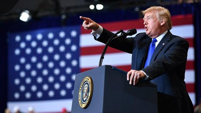 La rhétorique anti-guerre de Trump n'est que de la poudre aux yeux électorale