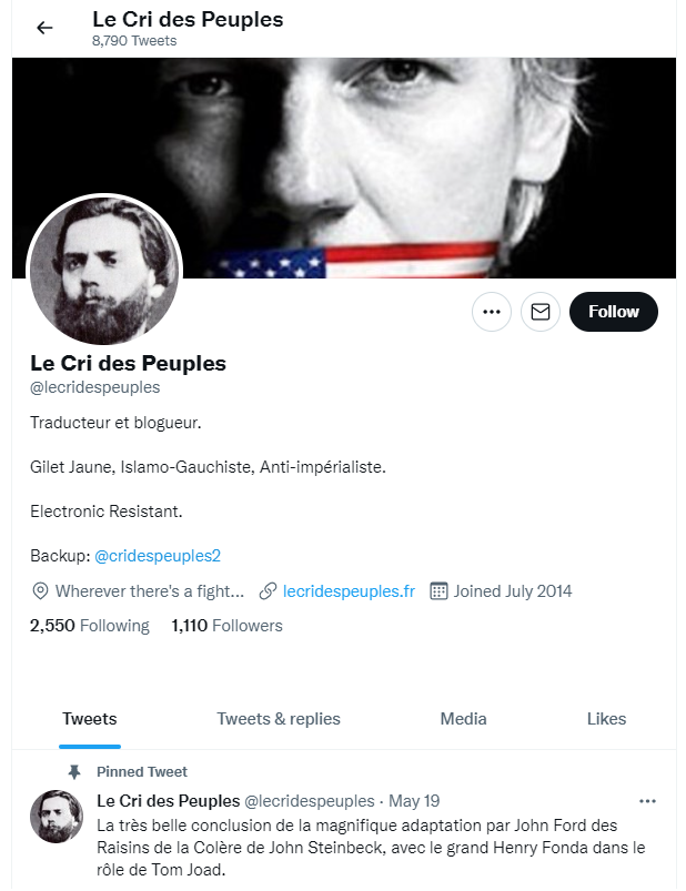 Compte Twitter 1